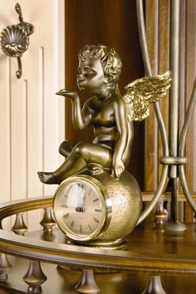 BOGACHO Часы каминные / настольные Ангел на шаре