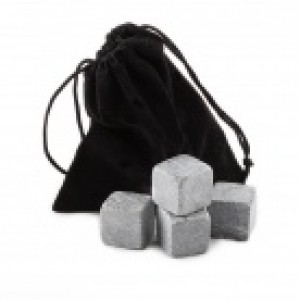 Камни для виски 4 шт в мешочке