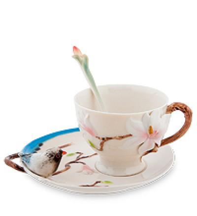 """Чайная пара """"Магнолия"""""""