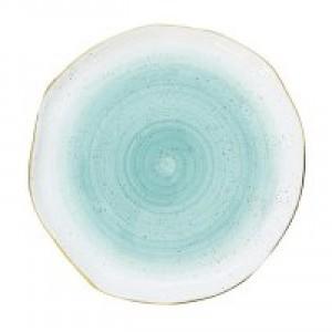 Тарелка Artesanal (зел-голубая)