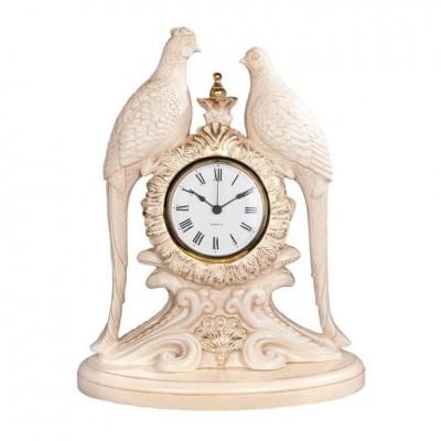 BOGACHO Часы настольные / каминные Павлины