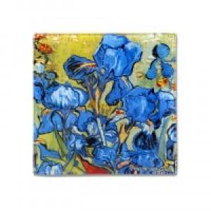 Тарелка квадратная Ирисы (Ван Гог)