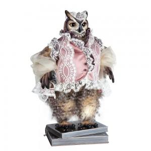 BOGACHO Сова Мадам Бовари - коллекционная кукла