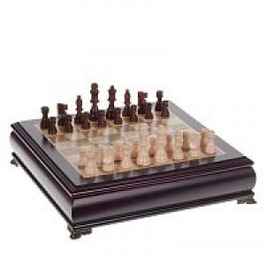 """Игра настольная """"Шахматы"""", L37 W37 H9 см"""