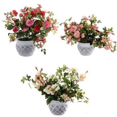 """Цветочная композиция """"Розы"""", L30 H34 см"""