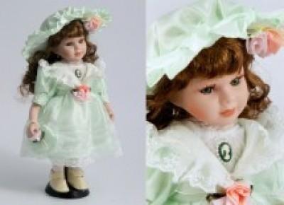 "Кукла коллекционная ""Саманта"" 31см, фарфор"