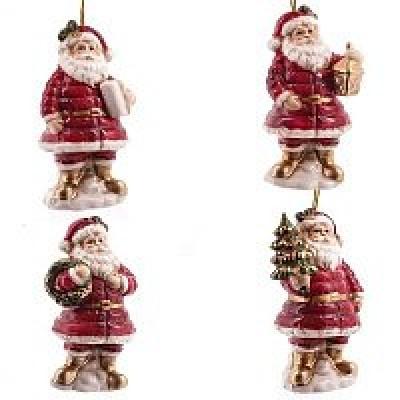 """Украшение новогоднее """"Санта"""", L5,1 W4,5 H9 см"""