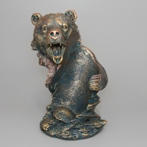 "Подставка под вино ""Медведь"" 17*15.2*26см"
