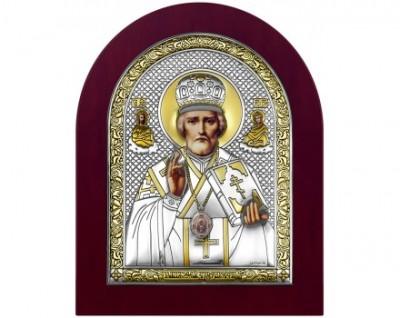 Икона Николай Угодник 8x10,12х14,16х20, 22х26,28,5х34,5см.