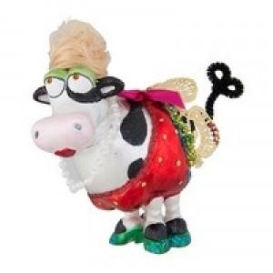 "Корова ""Бабетта"" (стекло) 6х10х11 см"