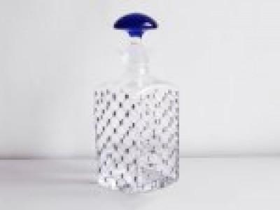 ИФЗ Графин (син.кр) 1000 ml Кобальтовая сетка