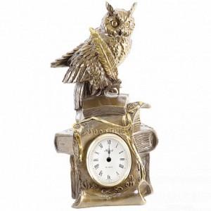 Часы каминные / настольные Ученый филин BOGACHO