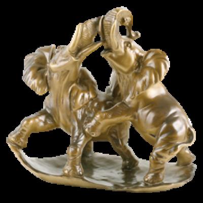 Статуэтка Играющие Слоны